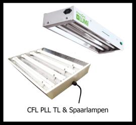 CFL PLL TL en Spaarlampen