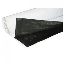 Zwart/Wit folie 2 x 25meter (per strekkende meter)