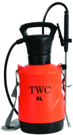 TWC Battery drukspuit 6 Liter