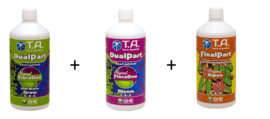 Terra Aquatica DualPart® Grow Soft water + Bloom + Ripen 1 liter