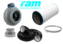 RAM Carbon Filter set 277m³