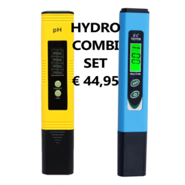 Hydro pH en EC Combi Set