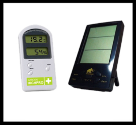 Thermo/hygro meters