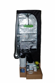 LED Kweektent Homebox 60x60x160 met 240 watt LED power.