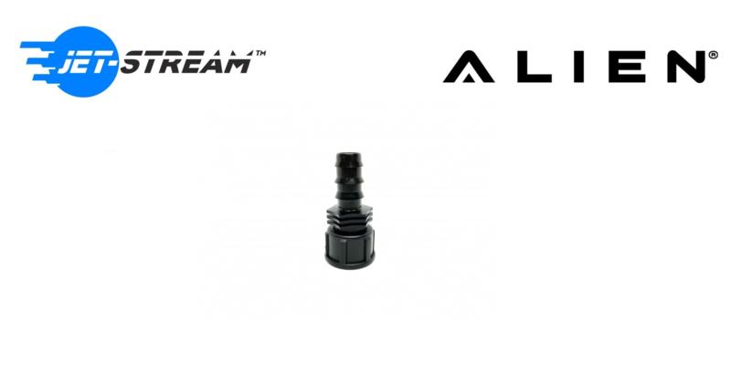 ALIEN® 20mm slang dop Zwart