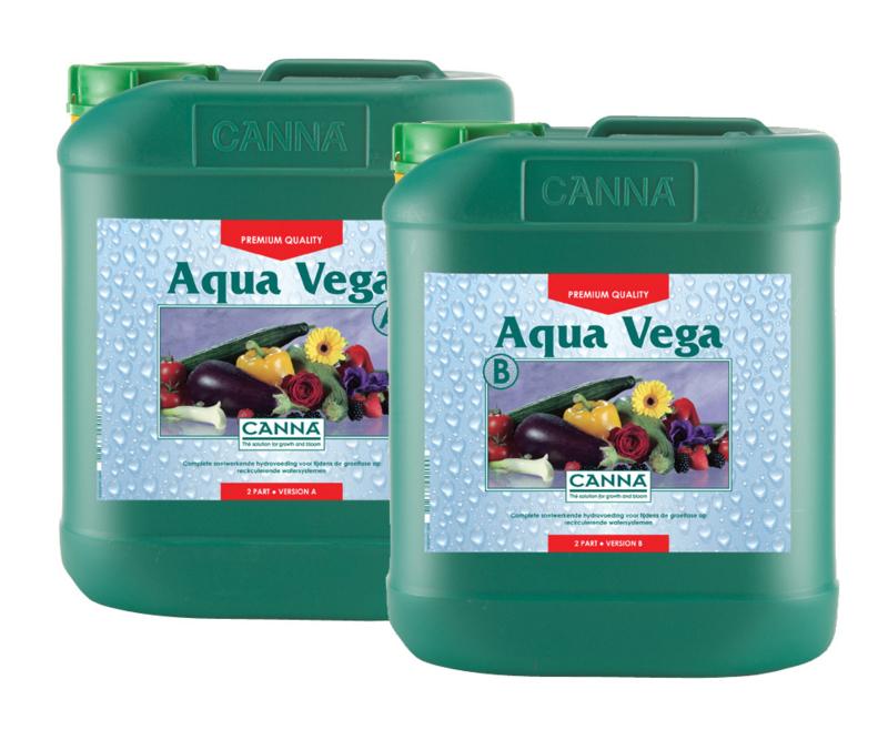 Canna Aqua Vega A+B 5 liter