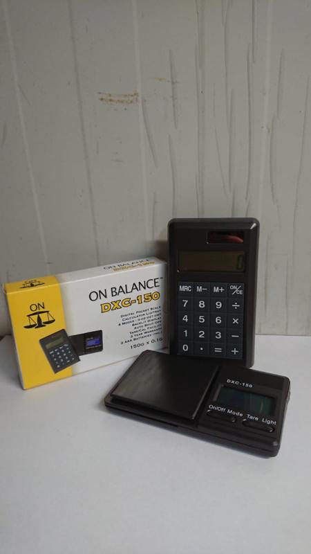 DXC-150 - On Balance weegschaal - 150x0.1g