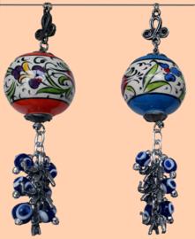 Sierbollen keramiek (div. kleuren)