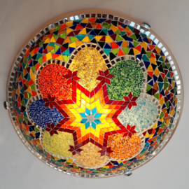 Plafonniere 40cm multicolor