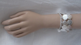 armband TM38 zilver
