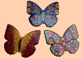 """Wanddecoratie """"Vlinders"""" middel"""