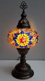 Tafellamp 16 cm multicolor BGOR