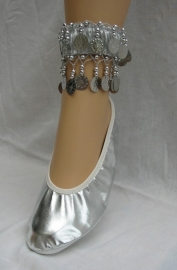 dansschoentjes zilver