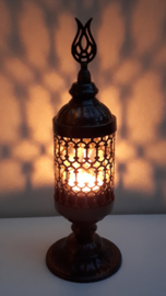waxinelichthouder lantaarn enkel