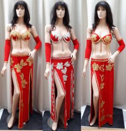 rode kostuums