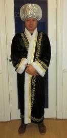 Sultan kaftan zwart