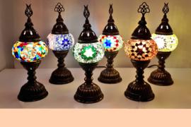 Tafellampjes klein (10cm)