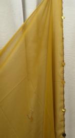 sluier 130m lichtbruin (170 x 110 cm)