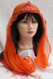 1001-nacht kroontje met sjaaltje