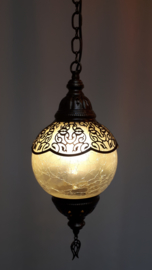 Ottomaanse hanglamp (mat glas)