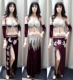 bordeaux kostuums