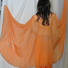sluier 207 oranje (240 x 120 cm)