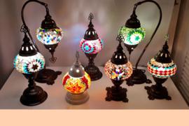 Tafellampen middel (13cm)
