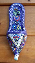 Ottomaans slofje paars