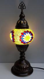 Tafellamp 13cm lichtgroen 4S-RBWG