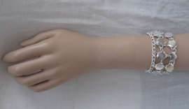 armband TM34 zilver