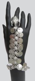handsieraad zilver met muntjes 01