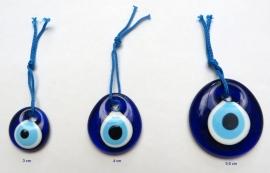 """hanger """"boze oog"""" 3 cm"""