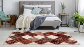 Kelim patchwork 125x204