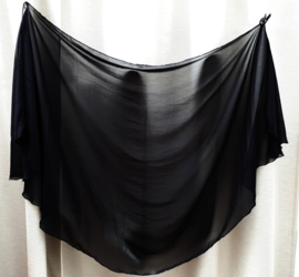 sluier 148 zwart (200 x 100 cm)