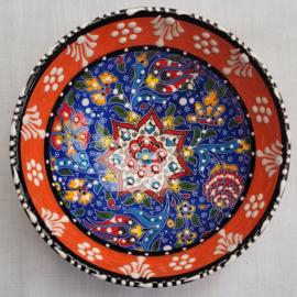 keramieken schaaltjes 12cm oranje