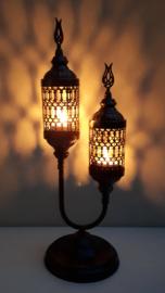 waxinelichthouder lantaarn dubbel