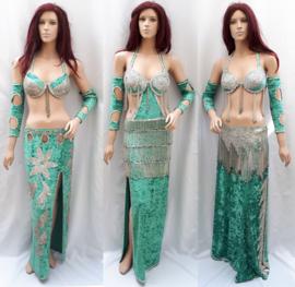 groene kostuums