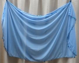 sluier 133kp licht blauw (190 x 105 cm)