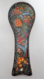 Lepelhouder keramiek zwart-2