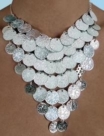 halsketting M19 zilver