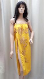 rok of jurkje geel/goud