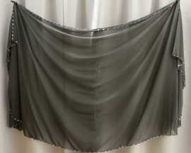 sluier 115kp donkergroen (200 x 100 cm)
