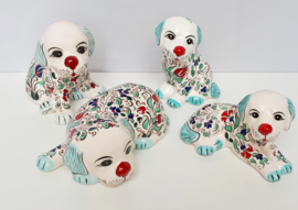 Hondenbeeldjes wit