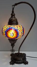 Tafellamp 'zwaan' 16cm multicolor BROGL
