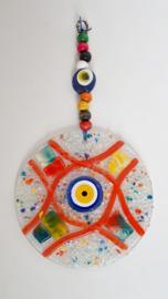 Wanddecoratie glasmozaiek 25