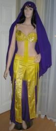 1001-nacht kostuum 287 geel