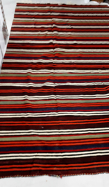 Kelim gekleurde strepen K105 (150x345cm)