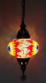 Mozaïek hanglamp 16cm multicolor ROGLB
