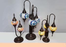 Tafellampen 2-3 bollen
