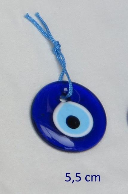 """hanger """"boze oog"""" 5 cm"""